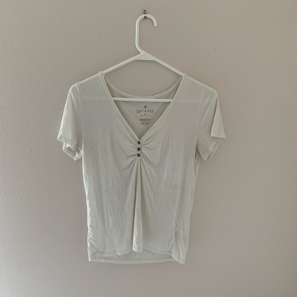 American Eagle Outfitters Tops - american eagle henley top
